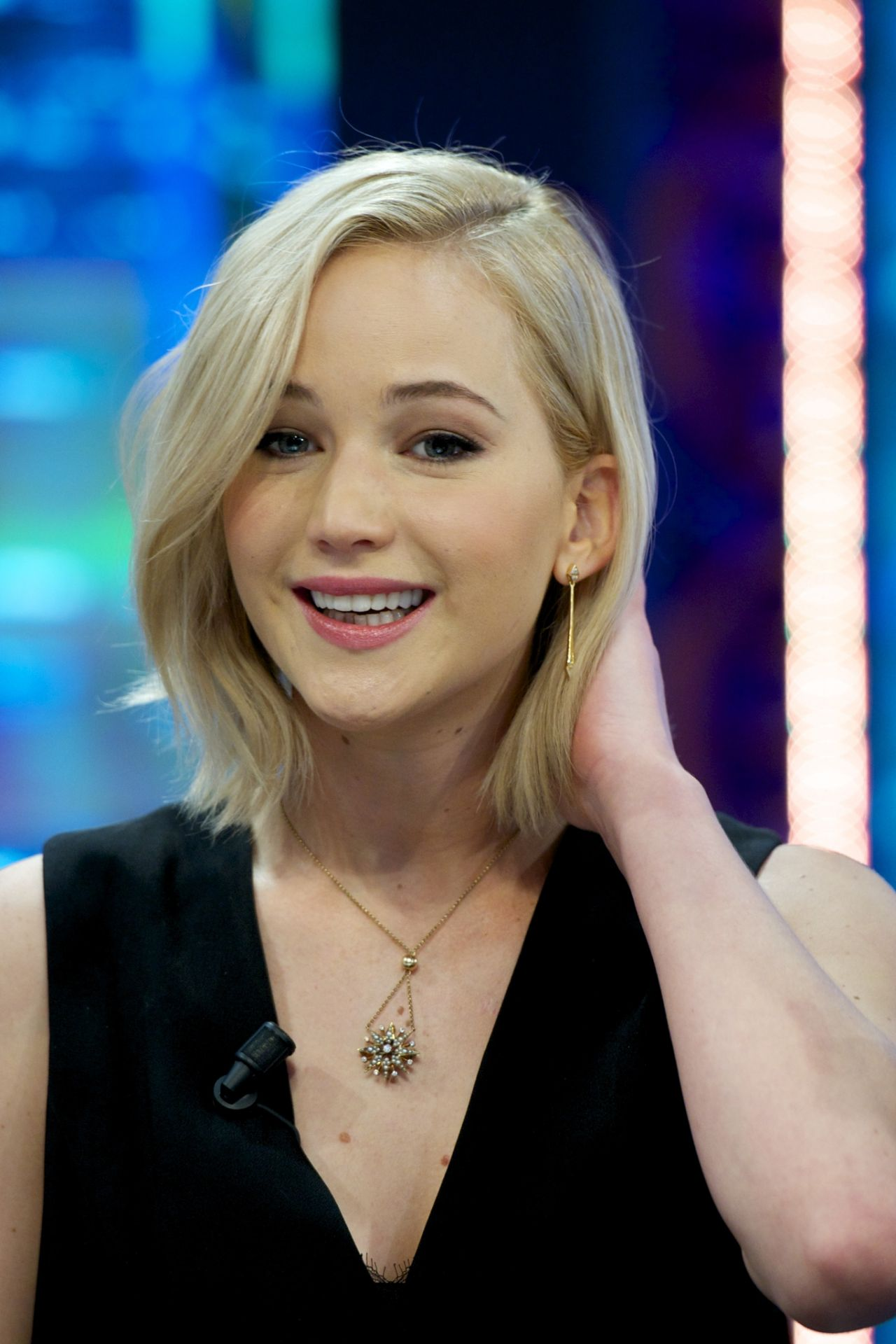 Jennifer Lawrence - 'El Hormiguero' TV Show in Madrid, 11 ... Jennifer Lawrence