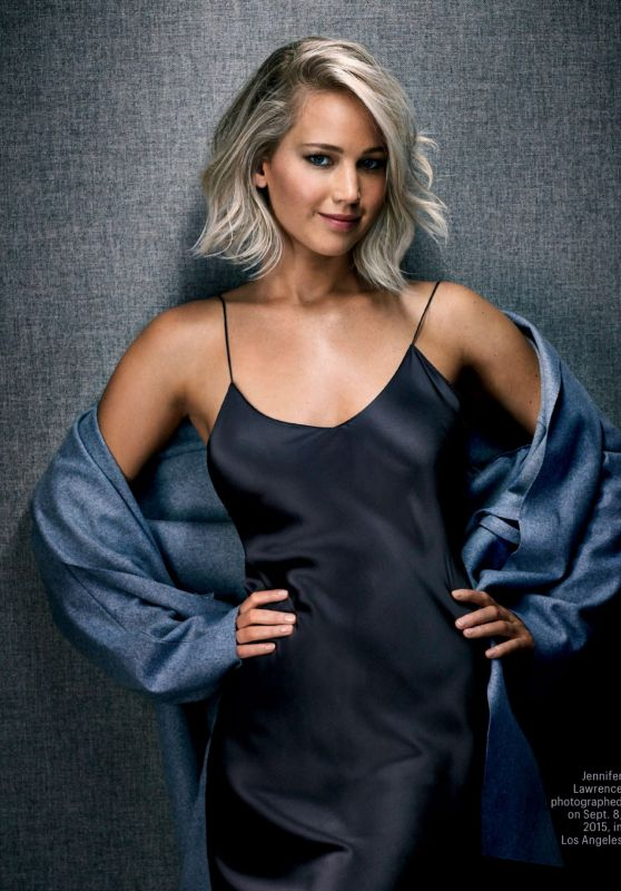 Jennifer Lawrence - Entertainment Weekly Magazine December 4, 2015