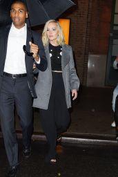 Jennifer Lawrence Night Out Style - New York City, 11/28/2015