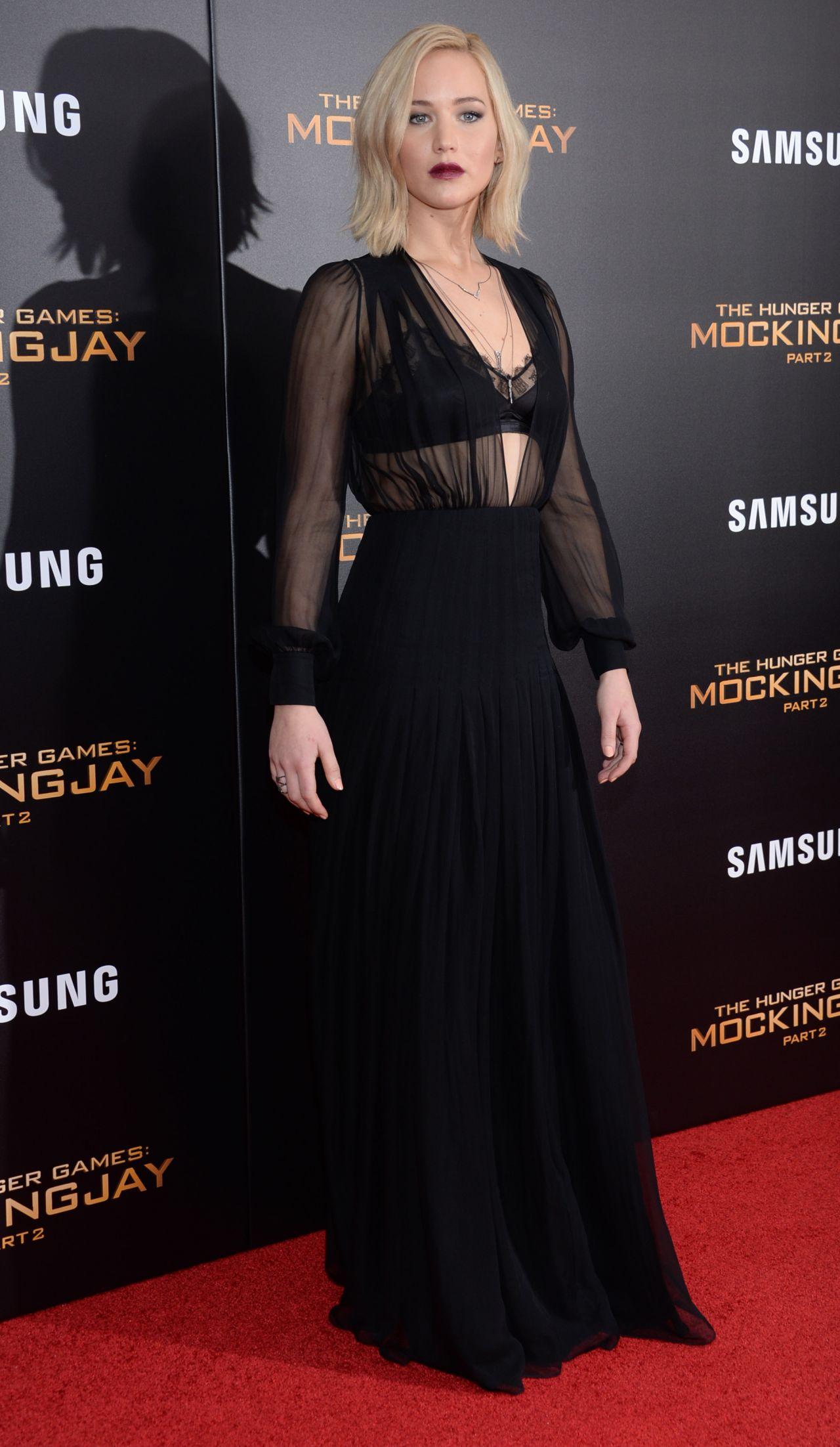 Jennifer Lawrence - \'The Hunger Games: Mockingjay, Part 2\' Screening ...