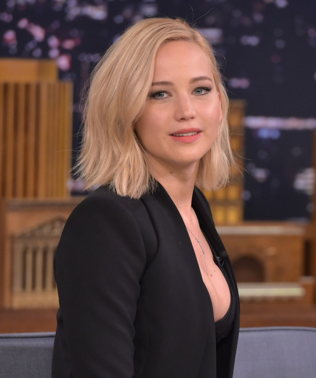 Jennifer Lawrence The Tonight Show Starring Jimmy
