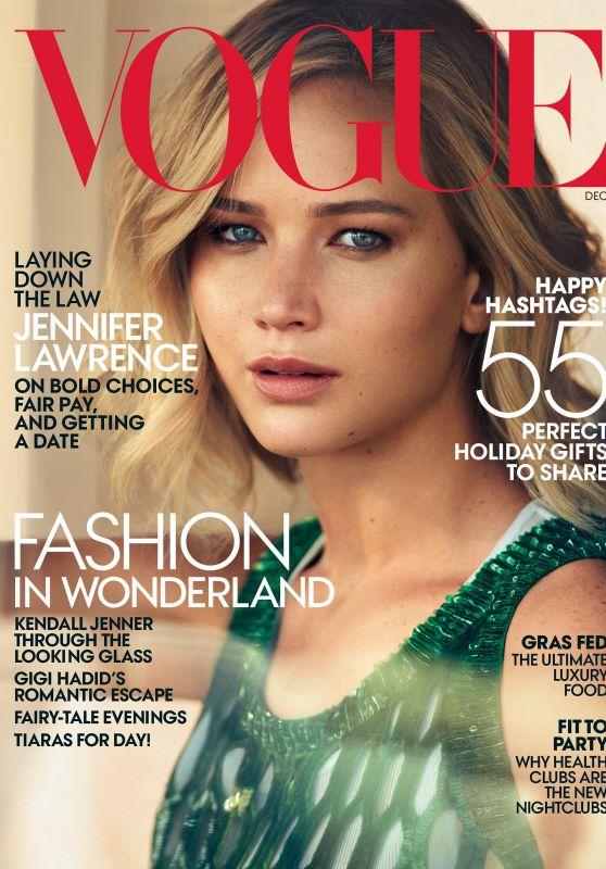 Jennifer Lawrence - Vogue Magazine December 2015 Cover
