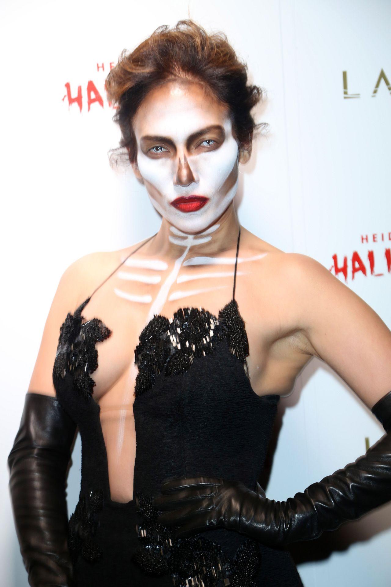Lopez – Heidi Klum Halloween Party in New York City, October 2015