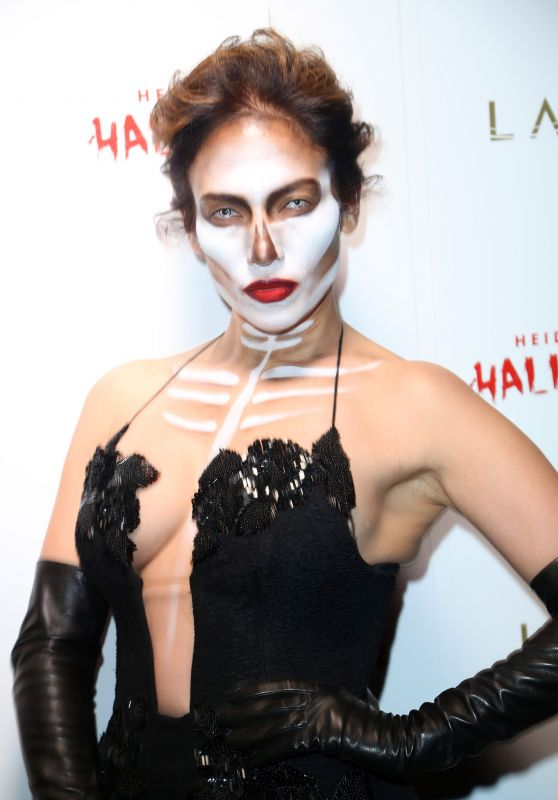 Jennifer Lopez – Heidi Klum Halloween Party in New York City, October 2015