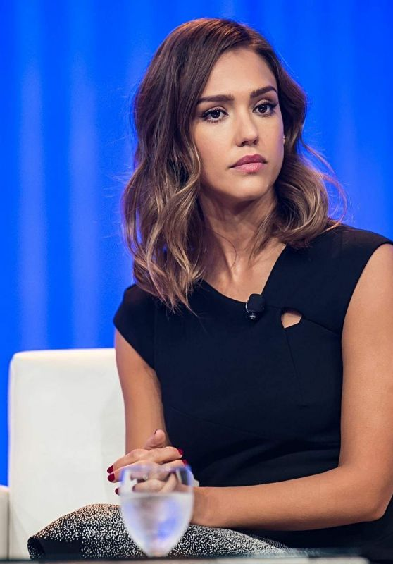 Jessica Alba - 2015 Pennsylvania Conference for Women in Philadelphia
