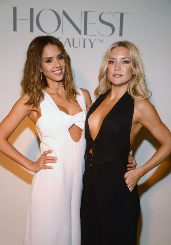 Jessica Alba & Kate Hudson - The Launch Of The #letsbehonest Campaign in Los Angeles