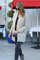 Jessica Alba - Leaving a Birthday Party in West Hollywood, 11/29/2015
