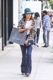 Jessica Alba - Shopping in Beverly Hills, November 2015