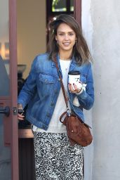 Jessica Alba Street Style - Out in LA, November 2015
