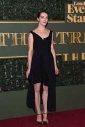 Jessica Brown Findlay – 2015 Evening Standard Theatre Awards in London