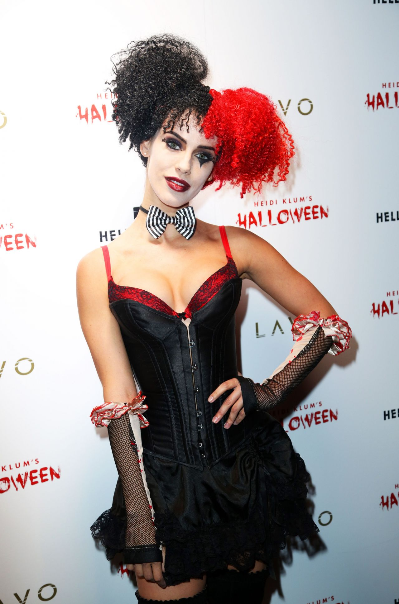 Lowndes – Heidi Klum Halloween Party in New York City, October 2015