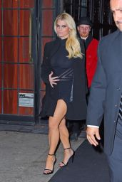 Jessica Simpson Night Out Style - New York City, November 2015