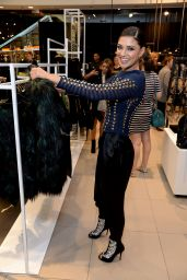 Jessica Szohr – Balmain x H&M Los Angeles VIP Pre-Launch in West Hollywood