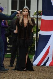 Jessica Wright – Towie Cast Film Nanny Pats Royal 80th Birthday Party, Croydon in London