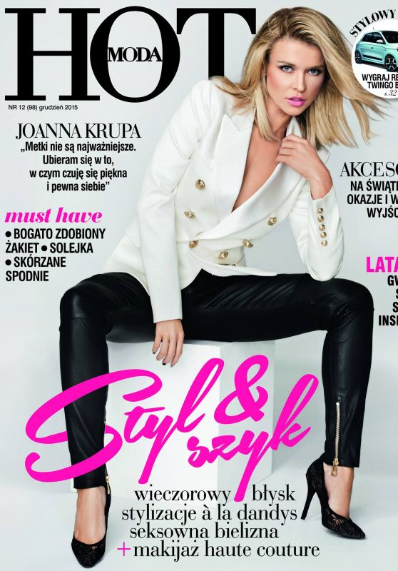 Joanna Krupa - HOT Moda Magazine - December 2015 Cover