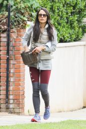Jordana Brewster - Out in Beverly Hills, November 2015