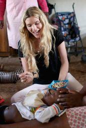 Joss Stone - Sentebale Programme Visit in Phelisanong, Lesotho, November 2015