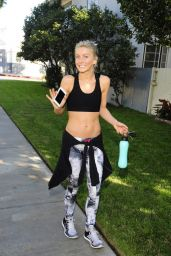 Julianne Hough - After a Workout in Los Angeles, October 2015
