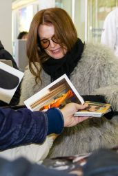 Julianne Moore - Arriving in Berlin for Premiere of Her Movie, November 2015