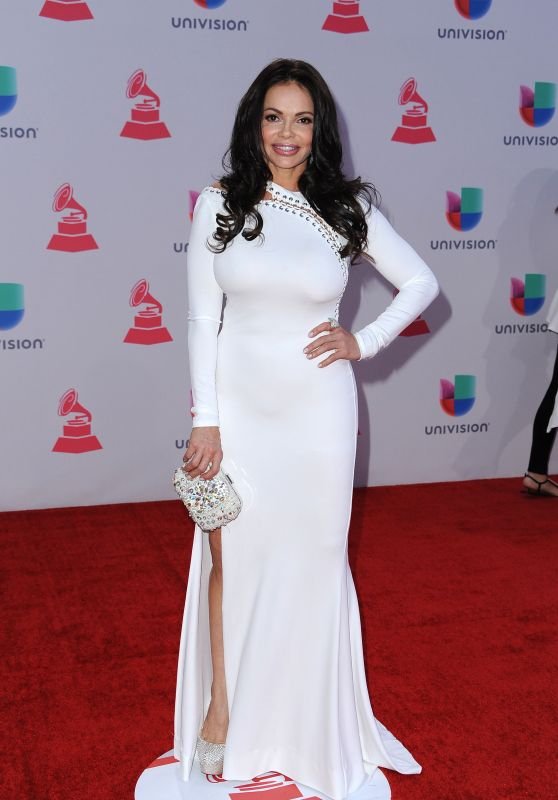 Julie Ferretti - 2015 Latin Grammy Awards in Las Vegas