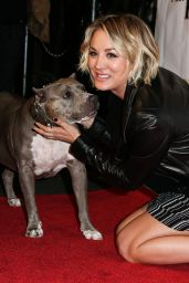 Kaley Cuoco - Stand Up For Pits Comedy Benefit in Hollywood, November 2015