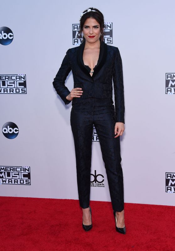 Karla Souza – 2015 American Music Awards in Los Angeles