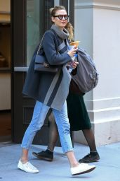 Karlie Kloss Autumn Style - New York City, November 2015