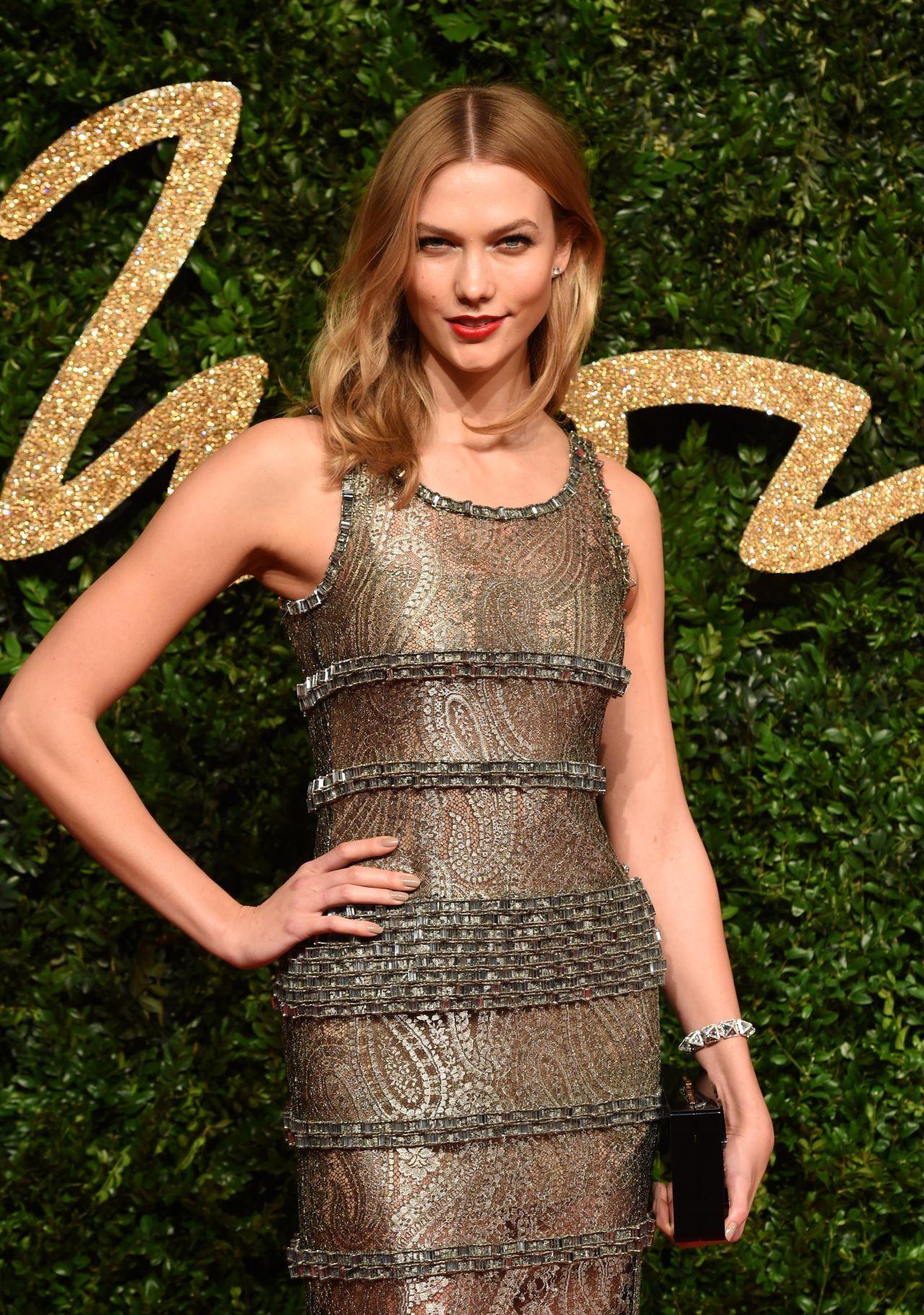 Karlie Kloss – British Fashion Awards 2015 in London