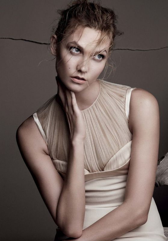 Karlie Kloss - Photoshoot for Vogue Magazine UK December 2015