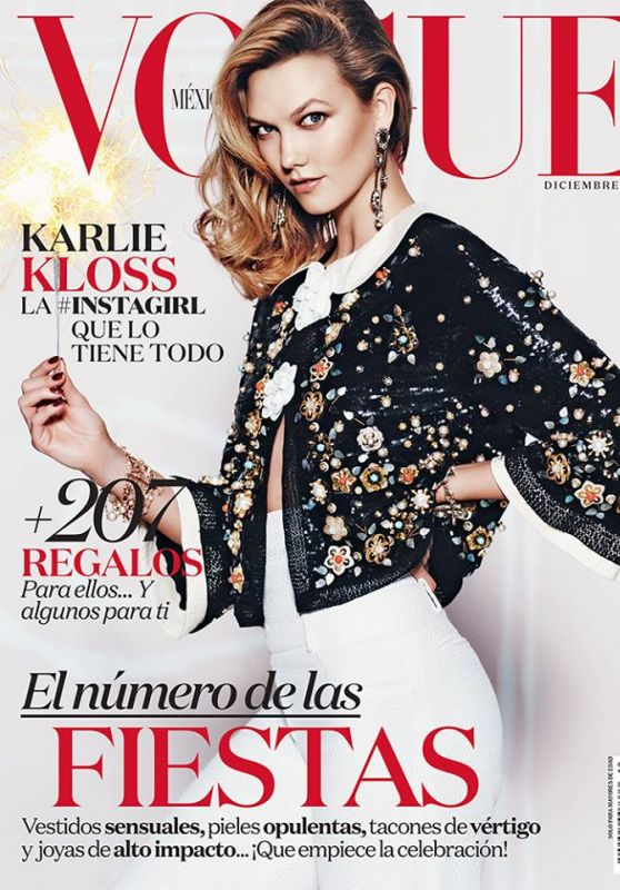 Karlie Kloss - Vogue Magazine Mexico December 2015 Cover