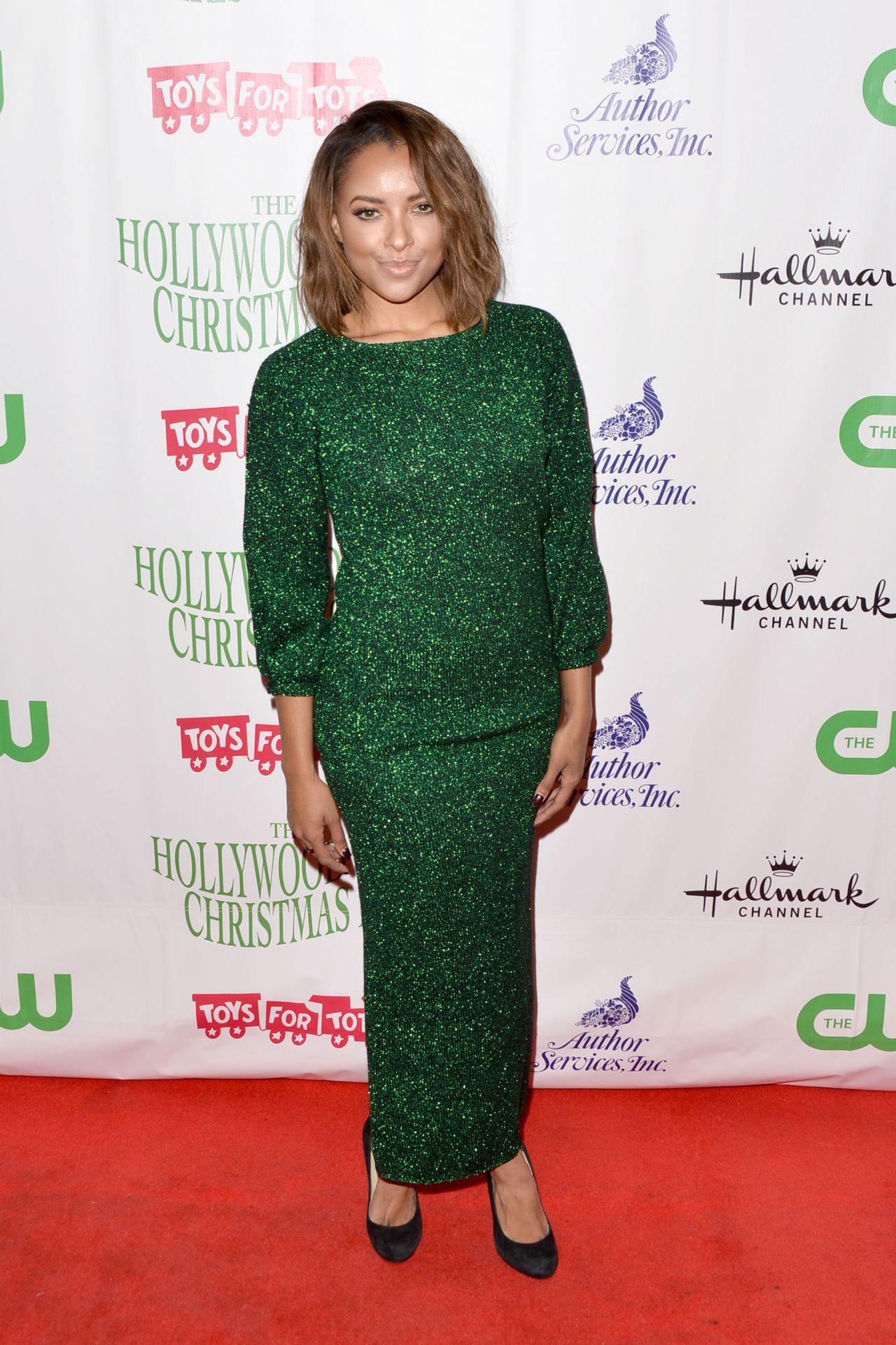 Kat Graham – 2015 Hollywood Christmas Parade in Hollywood