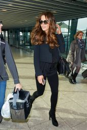 Kate Beckinsale at Heathrow Airport, November 2015