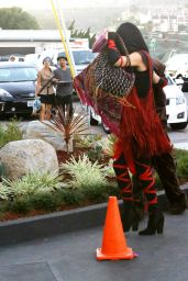 Kate Hudson - Ninja Outfit for a Halloween Party in Malibu, October 2015