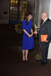 Kate Middleton Arrives at The Fostering Awards at BMA House Tavistock Square London