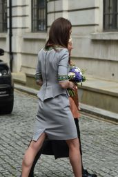 Kate Middleton - Attends Place2Be Headteacher Conference at the Bank of Merrill Lynch in London