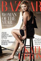 Kate Upton - Harpers Bazaar Magazine  Australia December 2015 Cover