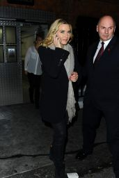 Kate Winslet - Leaving Claridges Hotel in London, November 2015