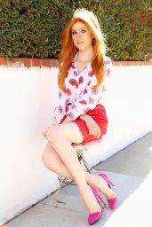 Katherine McNamara - Photoshoot in Los Angeles, November 2015