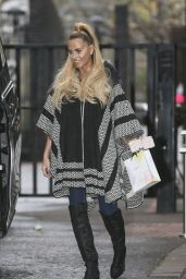 Katie Price - Leaving the ITV studios in London, November 2015