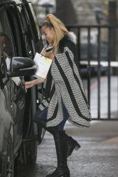 Katie Price - Leaving the ITV studios in London, November 2015