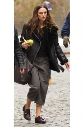 Keira Knightley - Sighting in Downtown New York 11/18/2015