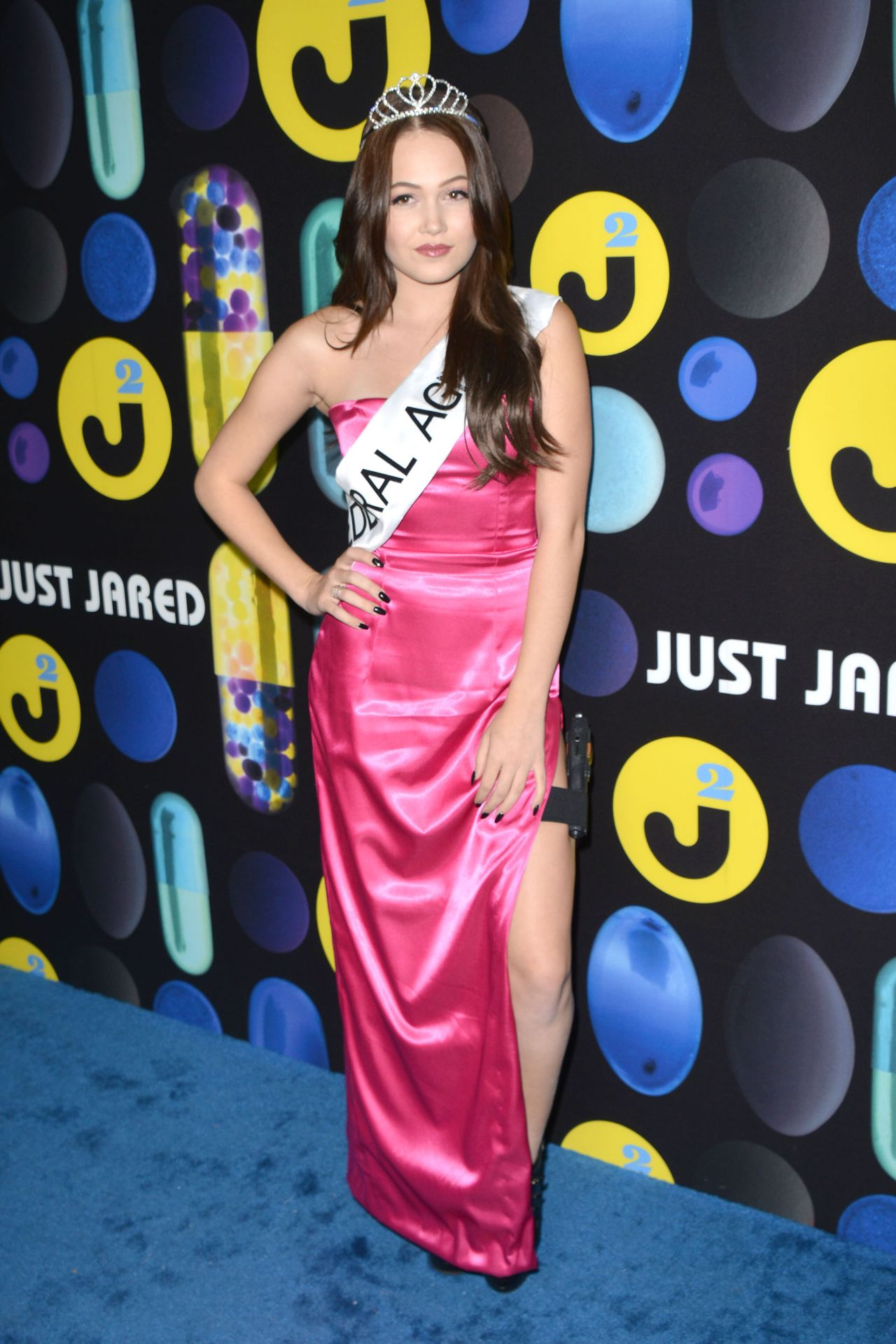 Berglund – Just Jared Halloween Party in Los Angele, October 2015