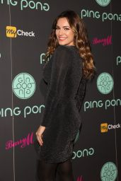 Kelly Brook - Ping Pong Restaurant Launch & Christmas Party in London, November 2015