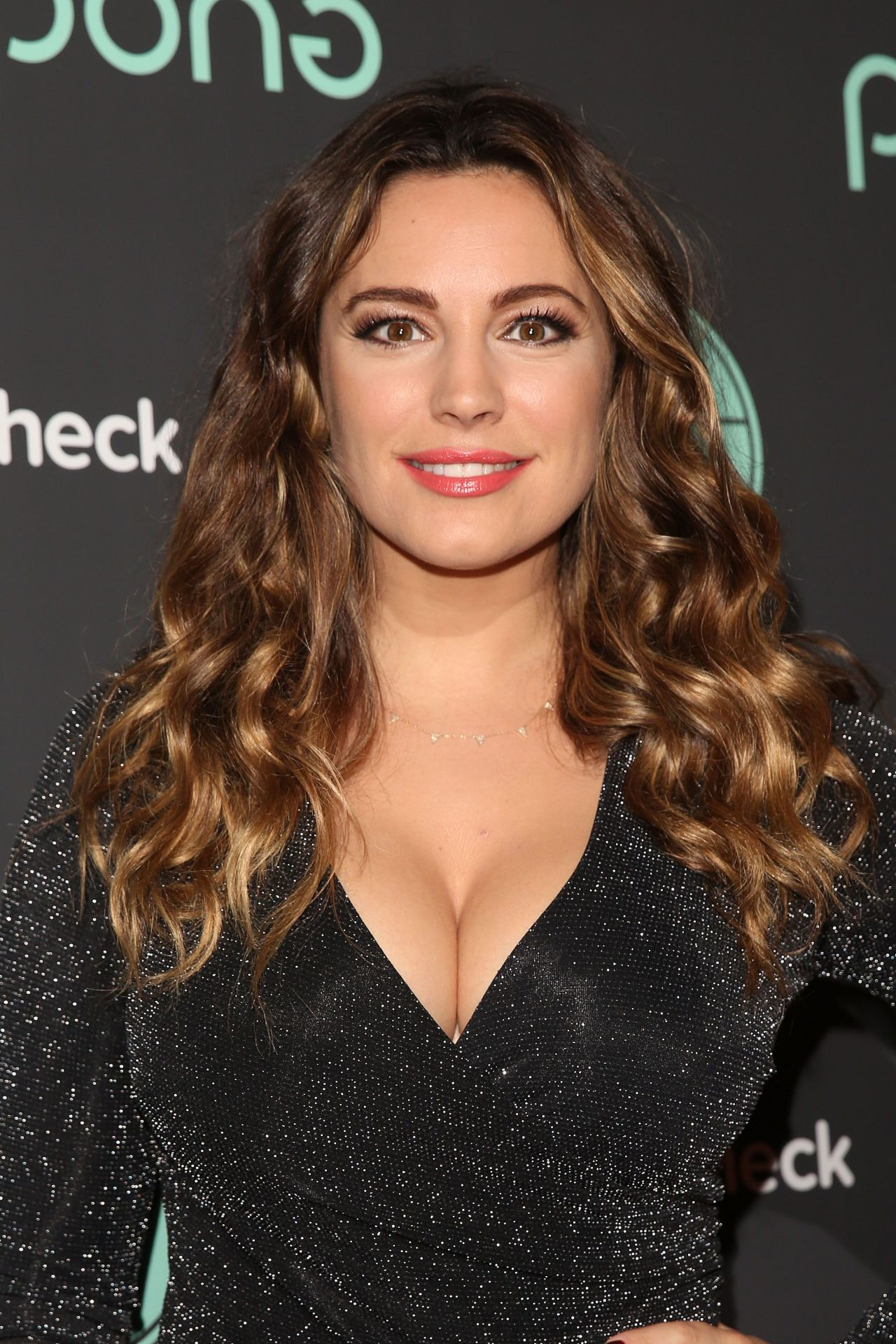 Kelly Brook - Ping Pong Restaurant Launch & Christmas ...
