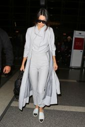 Kendall Jenner Airport Style - LAX in LA, November 2015