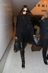 Kendall Jenner at LAX  Airport, November 2015