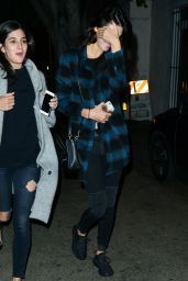 Kendall Jenner - Out For Dinner in Beverly Hills, November 2015