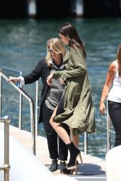 Kendall Jenner out on a Yacht in Sydney, November 2015