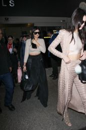 Kendall & Kylie Jenner - Arriving to LAX in Los Angeles, November 2015