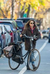 Keri Russell Autumn Style - Out in NYC, November 2015